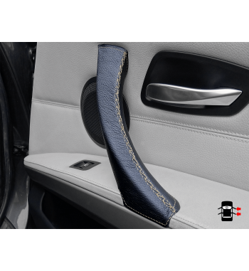 Passenger door handle cover gold bmw e91