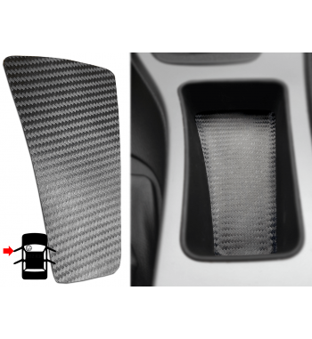 Inserto in carbonio per riporre la console centrale della BMW Serie 3 E90 / E91 / E92 (LHD 51167118034)