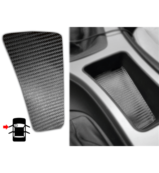 Carbon cover for BMW 3 Series E90/E91/E92 Oddments Tray (LHD 51167118034 /RHD 51167118040)