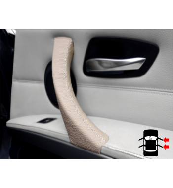 Dakota Beige Innen Türgriffe Türverkleidung Abdeckung BMW 3er E90 E91 E92 & M3 316-340 i / d