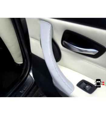 BMW Serie 3 E9x (DERECHA) Cubierta de la manija de la puerta del pasajero Color gris claro