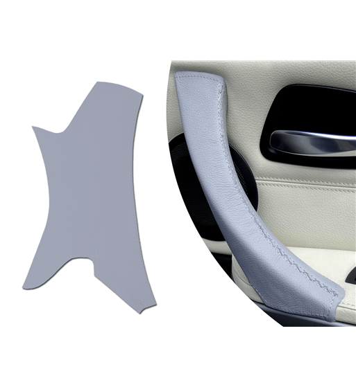 BMW Série 3 Série E9x (DROITE) Poignée de porte passager Couvre-porte passager Couleur gris clair