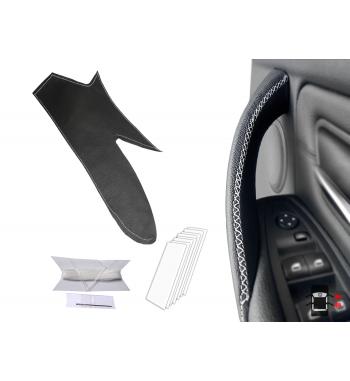 Custodia in pelle per BMW Serie 3 F30 / F31 / F34 / F35 / F80 Maniglia per porta interna (porta destra)