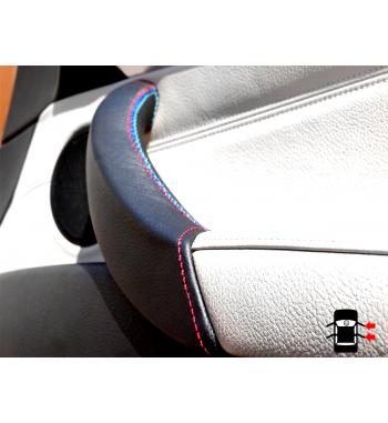 06-13 Beige M Stitch Right E70 E71 E72 Door Handle Cover BMW X5 X6