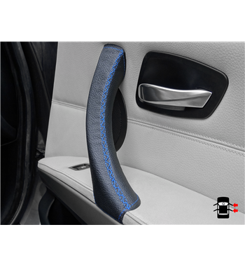 Blue Door Handle Cover BMW 3 Series E90/ E91 right door 320i, 325d, 325i, 328i, 330d, 330i, 335d, 335i, 340d, 340i