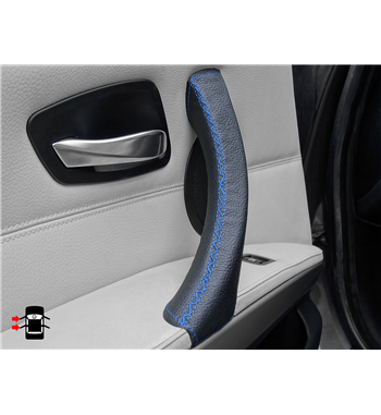 Blue Door Handle Covers left door BMW 3 Series E90/ E91