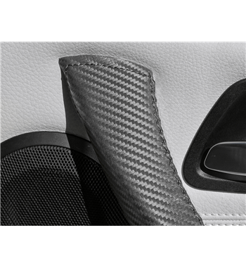 Real Carbon Fiber Leather Cover BMW 3 Series