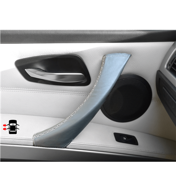 Grey Door Handle Covers BMW 3 Series 335d