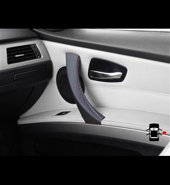 Für BMW Serie 3 E90 E91 E92 E93 Lederbezug für (rechten) Beifahrertürgriff M Sportfarbe