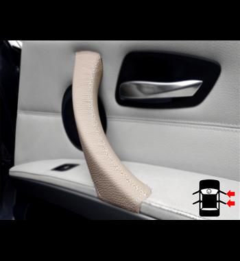 Beige door handle case for bmw e90 e91
