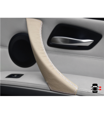 Beige trim pull handle replacement for BMW 3 Series