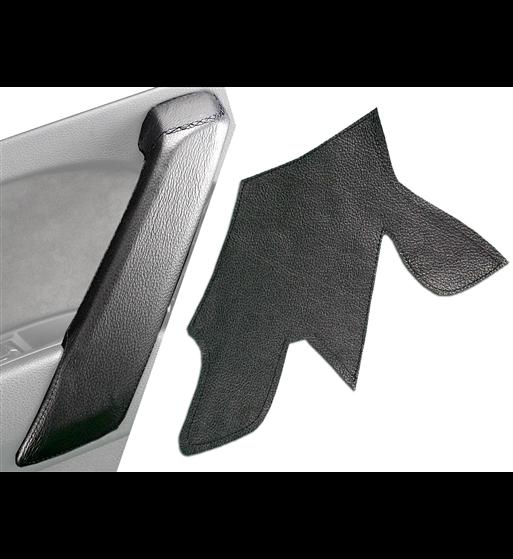Audi Q5 Door Handle Cover - Black Leather