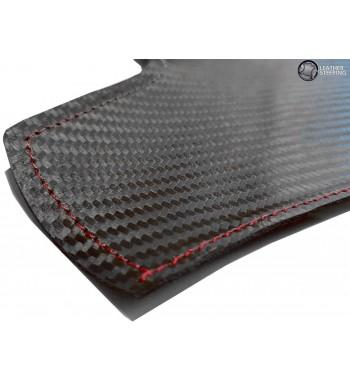 Per BMW Serie 3 E90 E91 Carbon Fiber Rivestimento in pelle per maniglie (destra) delle portiere passeggeri M Colore Sport