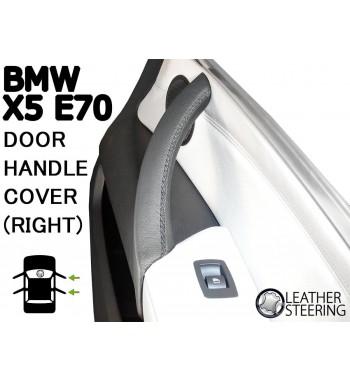 Pour BMW Série 3 E90 E91 E91 E92 E93 Couvercle en cuir pour poignée de porte passager (droite) M Couleur sport
