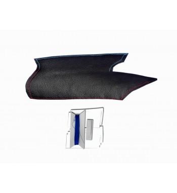 Copri maniglia per BMW X5 E70 Pelle nera M Cucitura sportiva (porta SINISTRO)