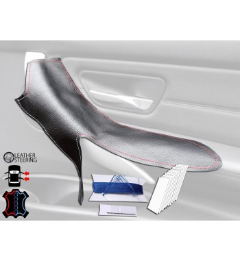 Door Handle Cover for BMW 3 Series F30  F31 3xx i/d (Right Door, Black Leather, M Competition)