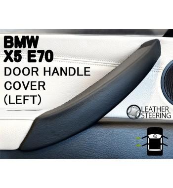 Per BMW Serie 3 E90 E91 E92 E93 Rivestimento in pelle per maniglie (SINISTRA) delle portiere passeggeri M Colore Sport