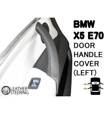 Für BMW Serie 3 E90 E91 E92 E93 Lederbezug für (IZQUIERDA) Beifahrertürgriff M Sportfarbe
