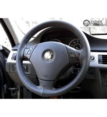 Skórzana osłona kierownicy do BMW E90 / E91  M3 Sport scieg