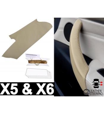 Copri maniglia per porta BMW X5 e X6 E70, E71, E72 2006-13 beige