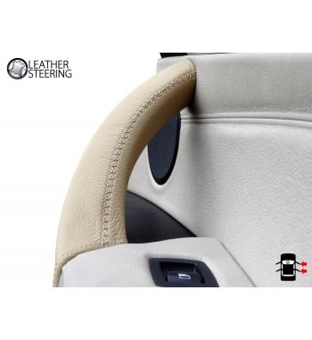 maniglia porta PC adatta per E70 E71 X5 X6 14-18 EBTOOLS 3PCS Coprimaniglia porta interni auto colore beige ABS