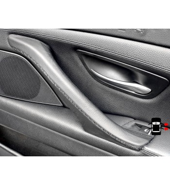 BMW 5 Series F10 F11 F18 Interior door handle cover leather