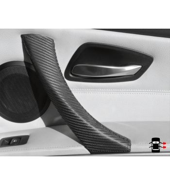 BMW E90/ E9x Carbon Effect Interior Door Handle Leather Protector