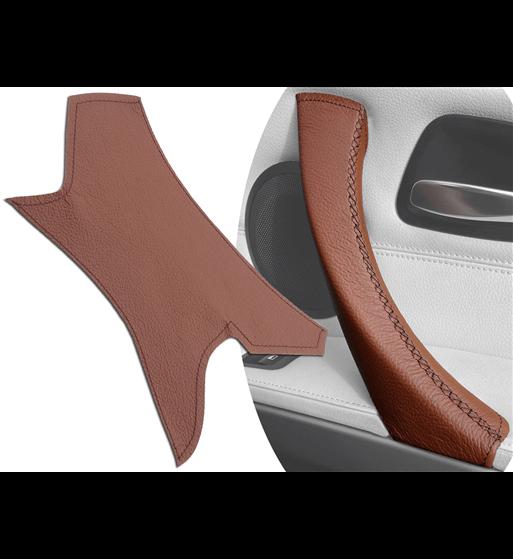 Brązowy klamka Skórzana osłona do BMW serii 3 E90 / E91 / E92 / E93 M3