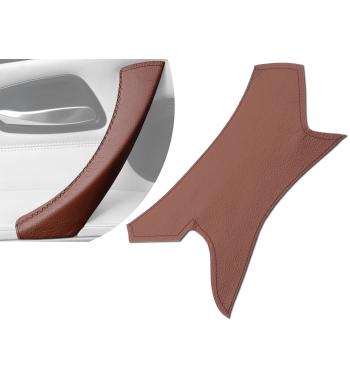 Brown Interior Door Handle Leather Cover for BMW 3 Series E90/ E91 / E92 / E93 M3