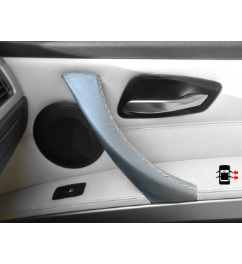 Grey Door Handle Leather Cover BMW 3 Series E90/ E91 / E92 / E93 M3