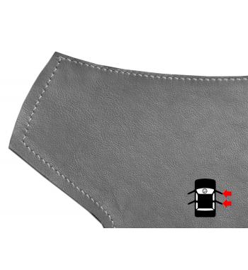 Szara klamka do drzwi wewnętrznych Skórzana osłona dla BMW serii 3 E90 / E91 / E92 / E93 M3