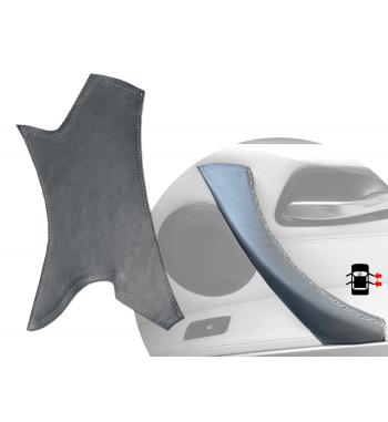 Manija de la puerta gris Funda de cuero para BMW Serie 3 E90/ E91 / E92 / E93 M3