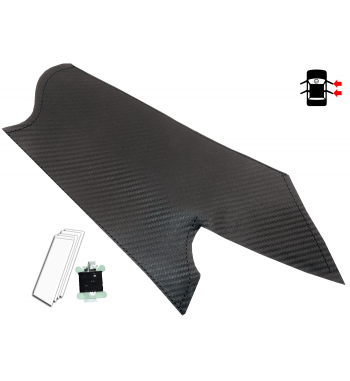 Carbon Fibre Cover for BMW X5 & X6 E70, E71, E72 06-13