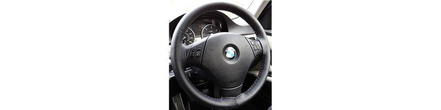 Skórzane Pokrowce na kierownicę do samochodu BMW Serii 3 E46