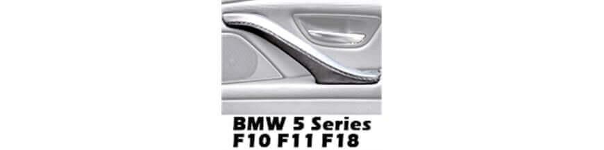 Poignées de porte en cuir pour porte passager BMW série 5 F10 F11 F18 (2010-2017)