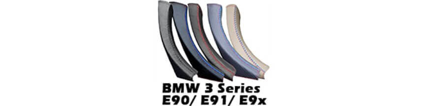 Ledergriffverkleidung, Türgriff für BMW 3er E90 E91 E92 E93 (2004-2012)