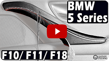 BMW 5 Series F10/ F11 passenger Door Handle Cover installation