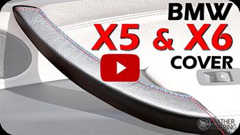 BMW X5 und X6 Interior Griffgriff Leder