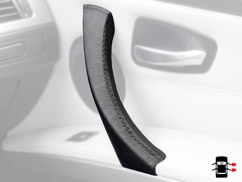 Pelle nera per porta maniglia BMW serie 3