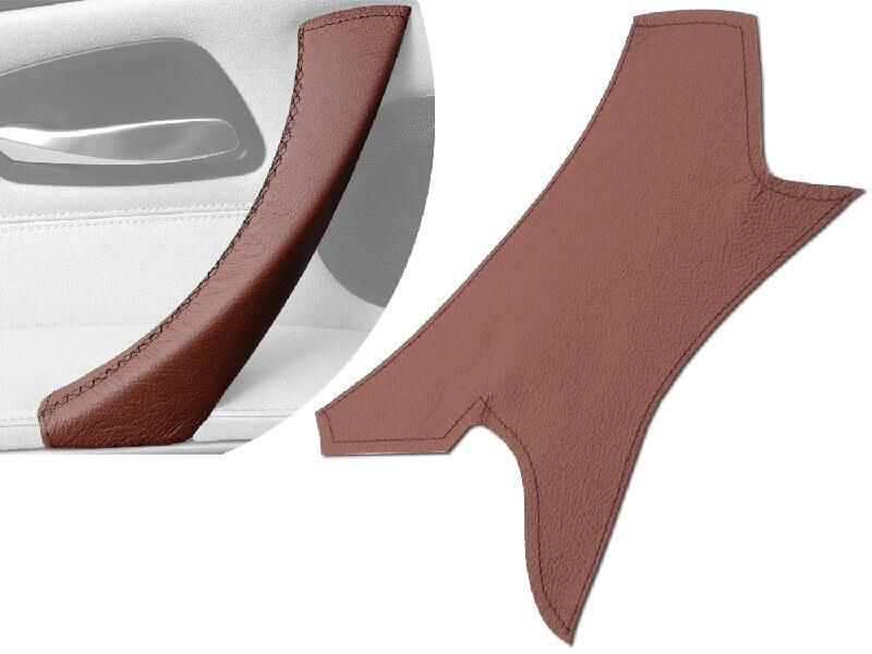 Cover interna in vera pelle marrone BMW 3 E90